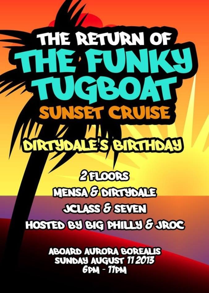 Funky Tugboat 2013