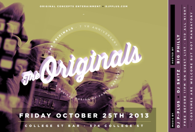 Originals FLYER_OCT25TH