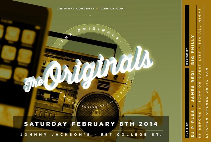 Originals FLYER_FEB8TH